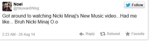 nicki tweet