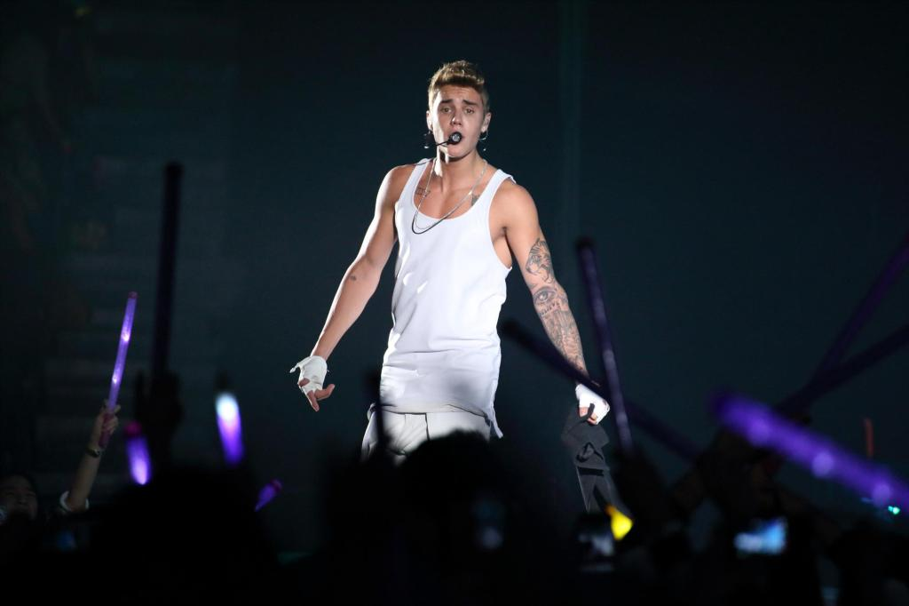 Justin Bieber Performs In Shanghai