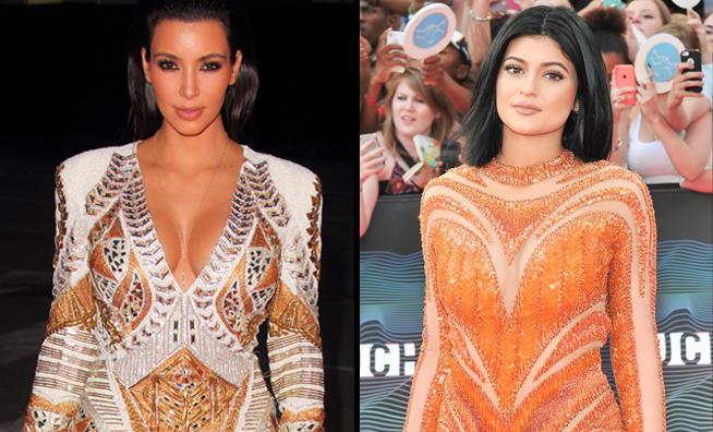 kim kardashian kylie jenner mashup