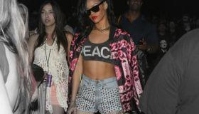Rihanna At Coachella 2012