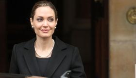 Angelina Jolie Attends The G8 Summit In London