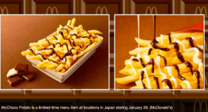 McDonald's Chocolate French Fries