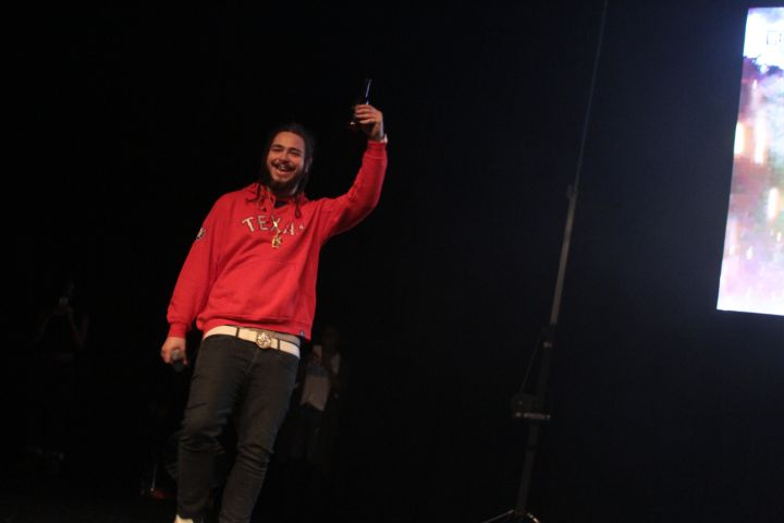 Fetty Wap and Post Malone In Indianapolis