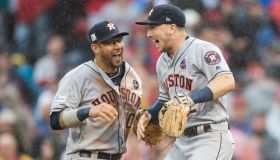 Divisional Round - Houston Astros v Boston Red Sox - Game Four