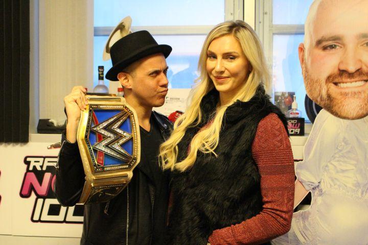 Charlotte Flair Visits The Joe & Alex Show [PHOTOS]