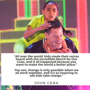 2018 Kids' Choice Awards - March for Our Lives Quotes