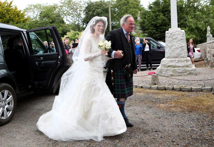 Kit Harington and Rose Leslie wedding