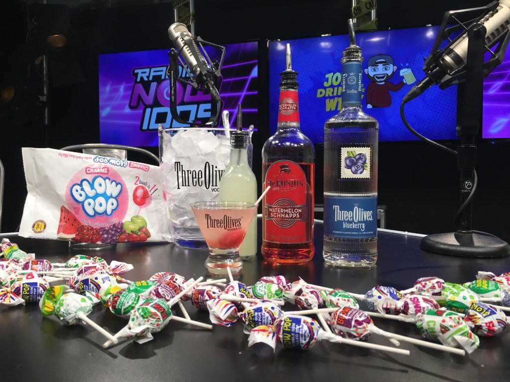 JDOTW - Lollipop Martini Recipe