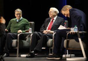 Bill Gates And Warren Buffett Speak At Columbia University