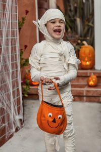 Happy Halloween-Portrait of a Mummy