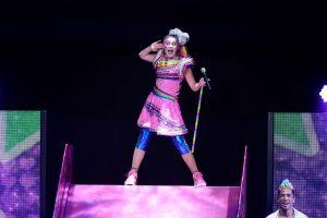 JoJo Siwa Performs At The Honda Center