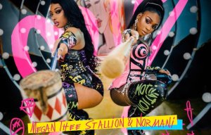 "Megan Thee Stallion & Normani ""Diamonds"" poster"