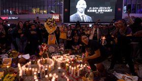 Kobe Bryant Remembered At The Staples Center