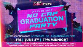 RadioNow No Cap graduation party