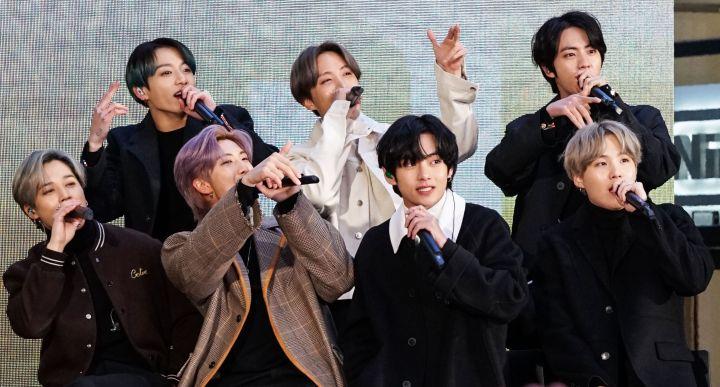 K-Pop Band BTS Visits NBC's 'Today' Show