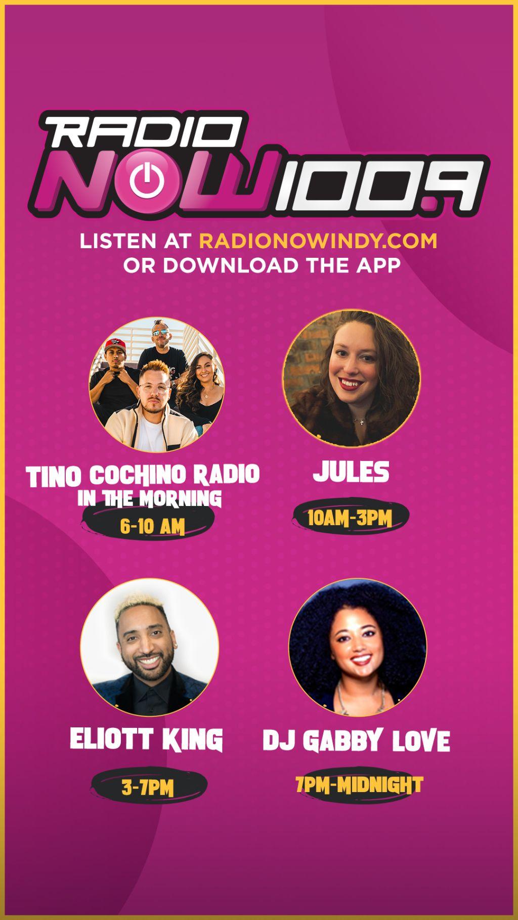 RadioNow New Lineup Branding