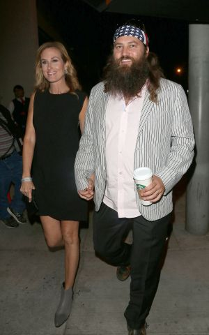 The Robertson Family arrive at Craig's
