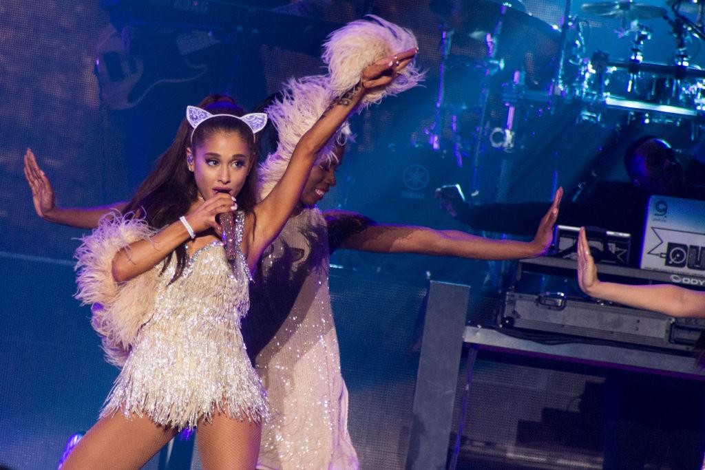 Ariana Grande in concert in Milan 2015