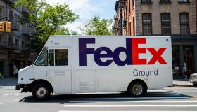 FedEx Delivery Truck