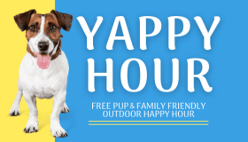 Yappy Hour At Military Park at White River State Park