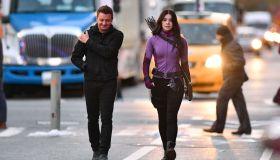 Celebrity Sightings in New York City - December 8, 2020