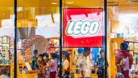 Lego Store In Shanghai